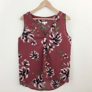 14th & Union | High Low Sleeveless Blouse